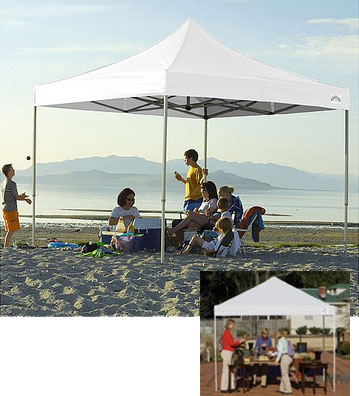 outdoor shade canopies can go anywhere & Outdoor Shade Canopy: Flexible Portable Affordable