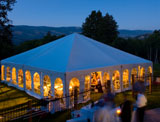 air conditioned event tent