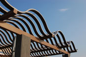 metals are among the most durable outdoor shade materials